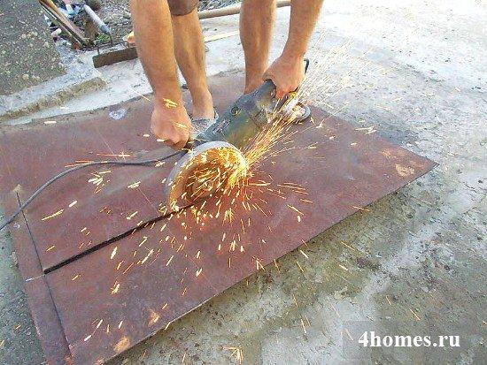 Как сделать мангал своими руками