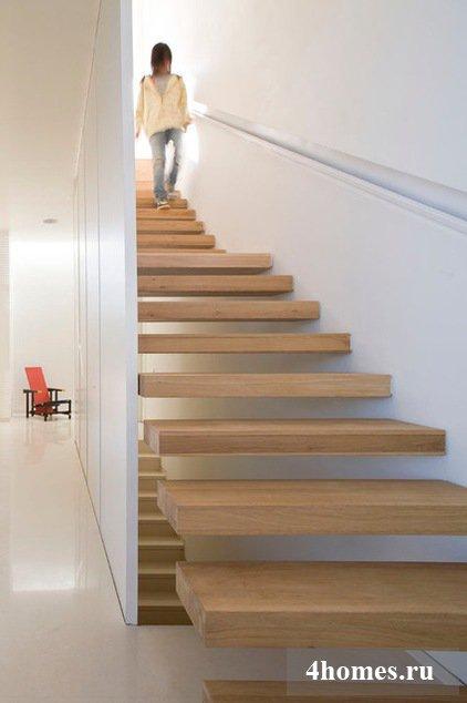 Дизайн открытой лестницы