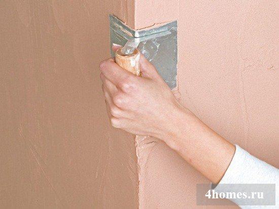Штукатурка стен волма слоем своими руками