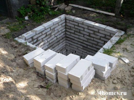 Туалет своими руками на яму