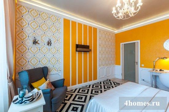 Обои в интерьере квартиры: фото дизайна и способы комбинирования