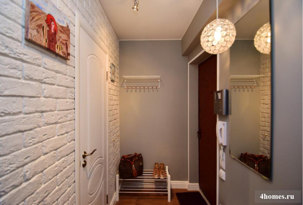 Дизайн маленькой прихожей в квартире