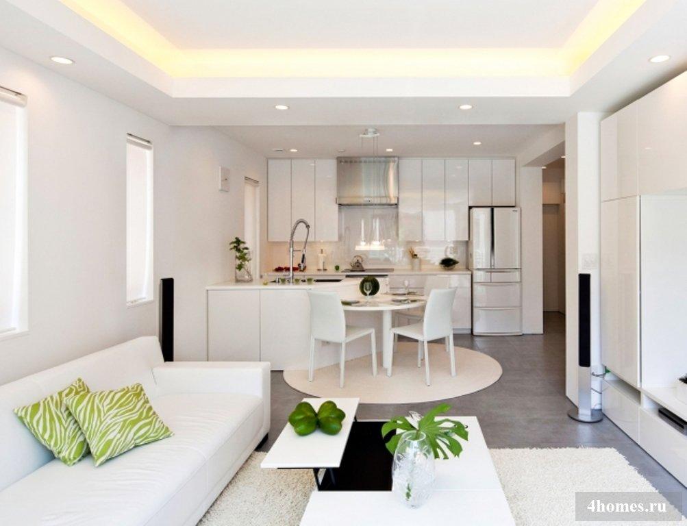 Дизайны квартир в современном стиле
