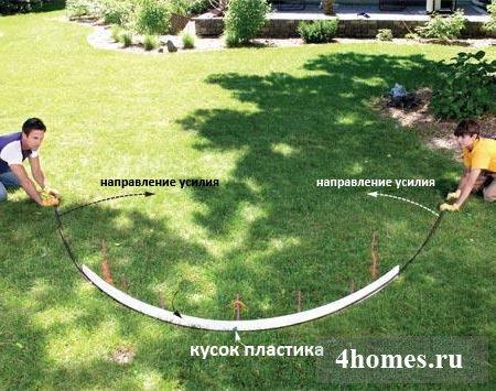 садовая арка своими руками