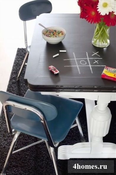 Стол с грифельной доской