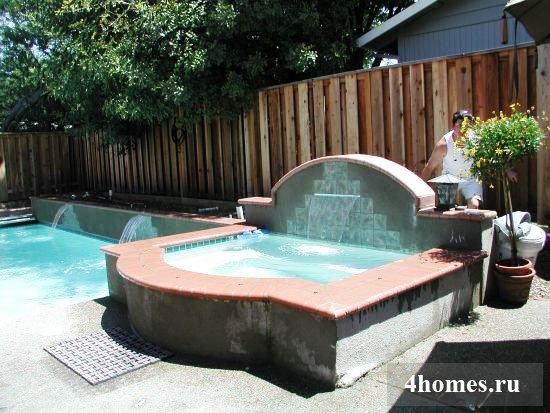 построить бассейн