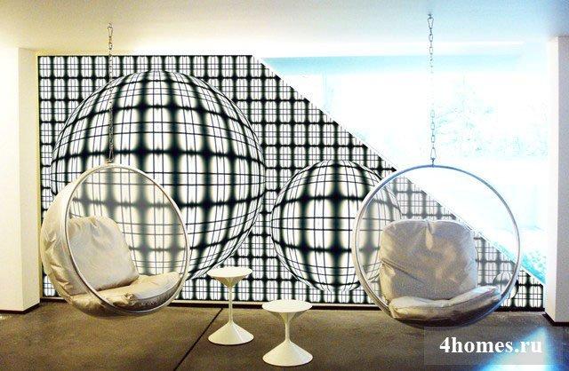 Легенда мирового дизайна: кресло бабл