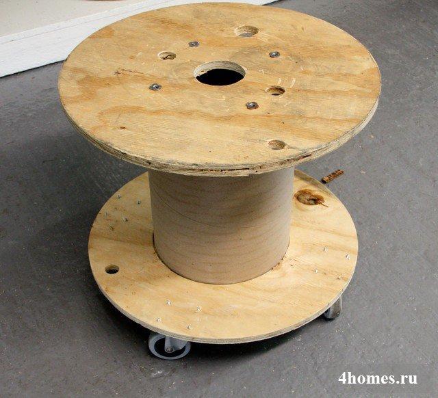 сервировочный столик на колесах