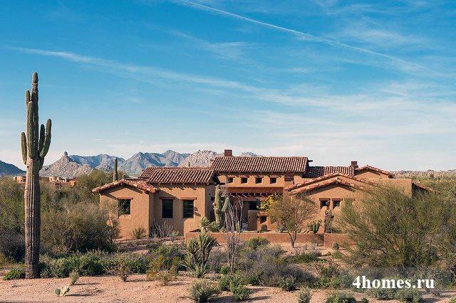 Особняк в Аризонской пустыне: элитное жилье в стиле Дикого Запада