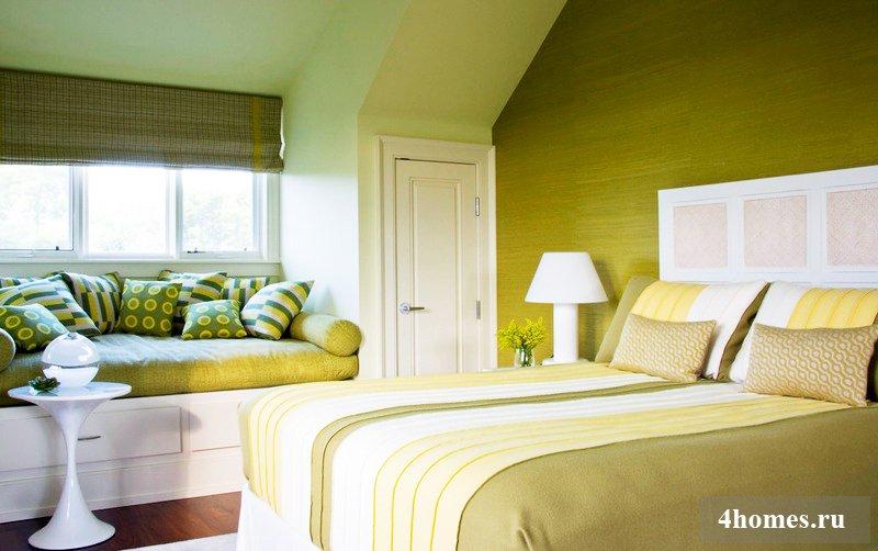 Цвет для спален – монохромные варианты