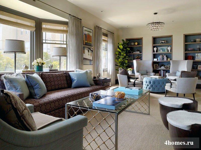 Дизайн узкой комнаты: оригинальные способы решения необычного пространства