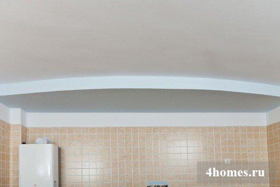 Как сделать сводчатый потолок из гипсокартона своими руками?