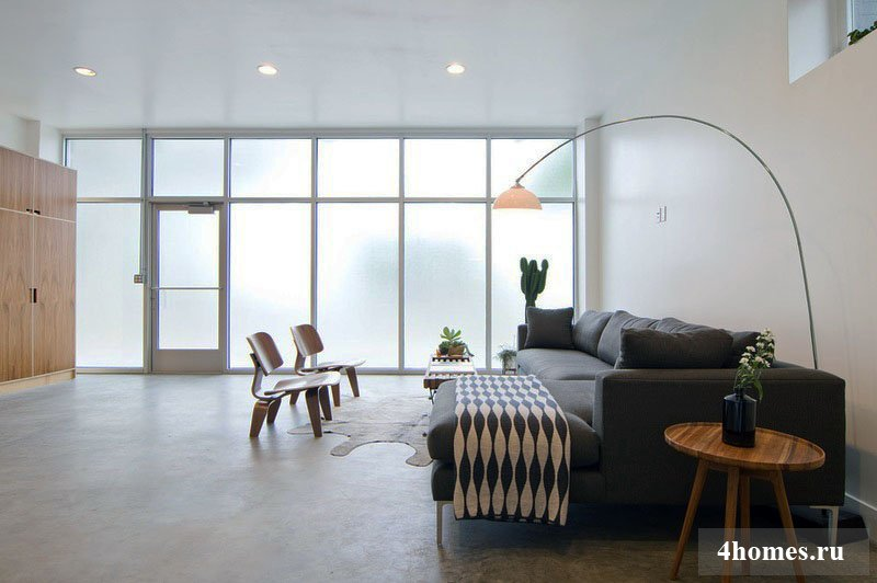 Переделка необычных помещений: как превратить магазин в жилой дом?