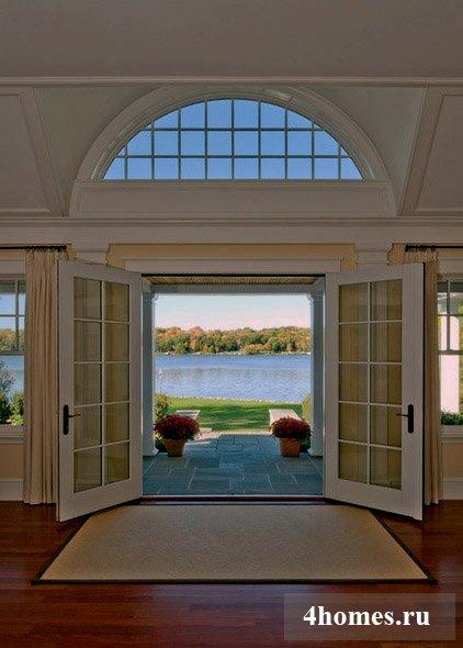 рапашные стеклянные двери