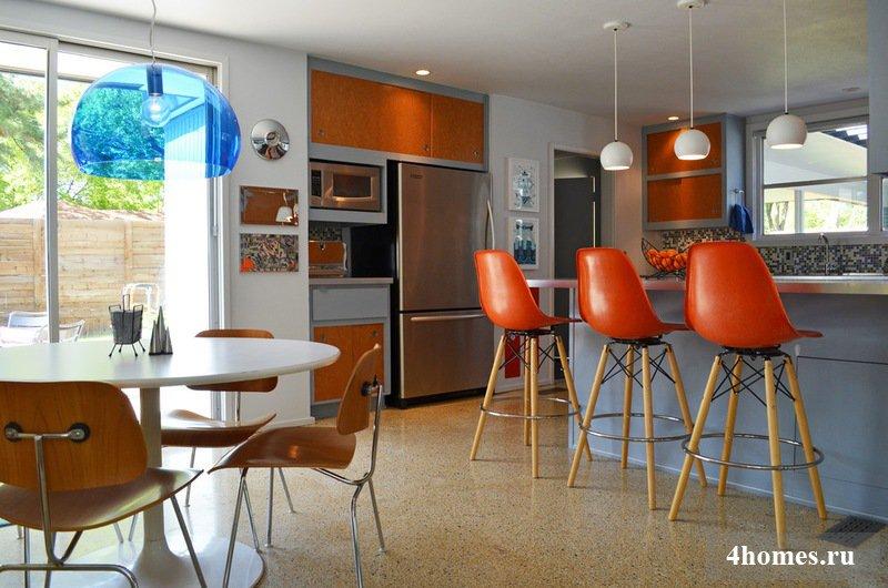 Барные стулья для кухни: 12 замечательных идей