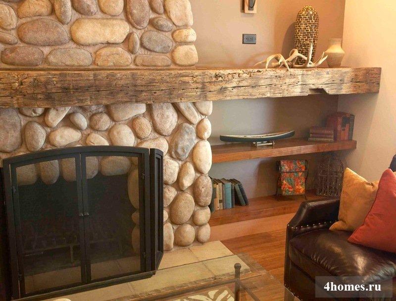 Каминный портал: яркое украшение вашей гостиной