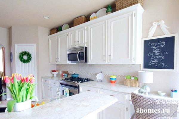 Стильное решение: белые кухни