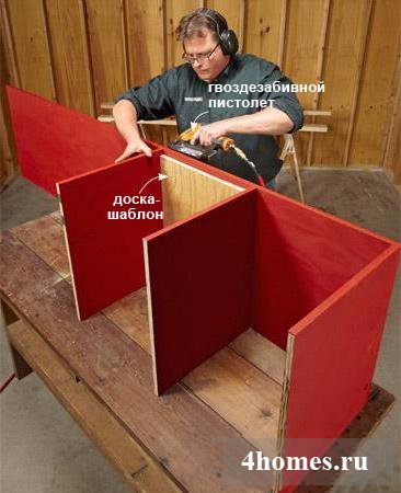 как сделать стеллаж