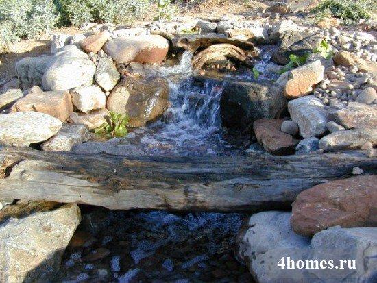 Идеи водопадов для приусадебного участка