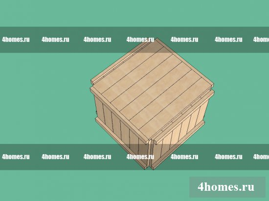 деревянная шпалера