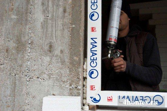 Установка пластиковых окон своими руками по шагам