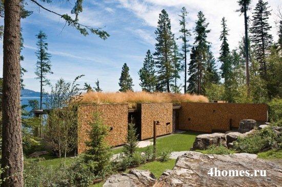 Комплекс оригинальных бревенчатых домов