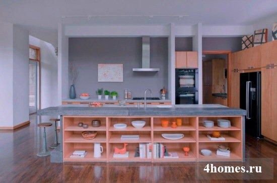 Кухня с островом: оптимизация пространства и дополнительные возможности в оформлении