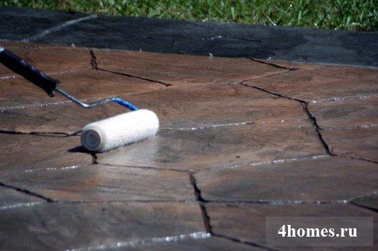 расходные материалы для печатного бетона