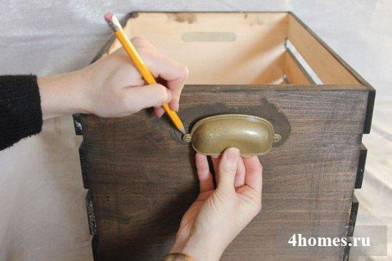 Короб для хранения вещей своими руками