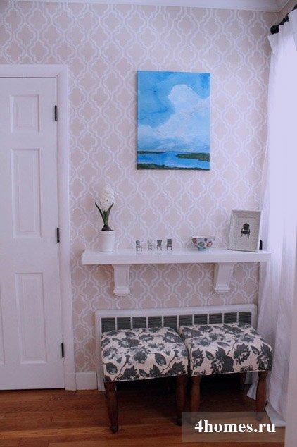 Роспись стен: украшаем дом сами