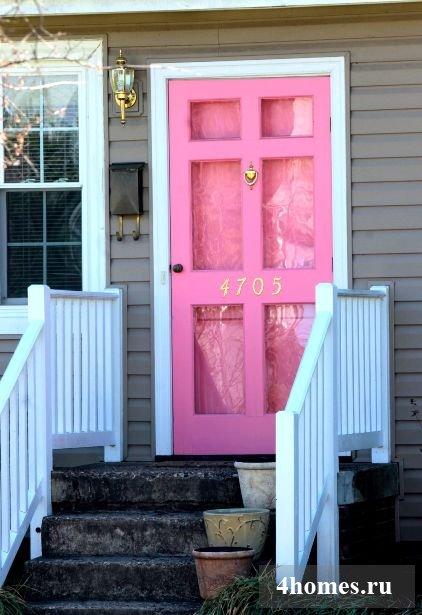 входные двери в частном доме