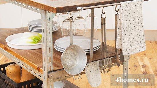 Как изготовить сервировочный столик своими руками?