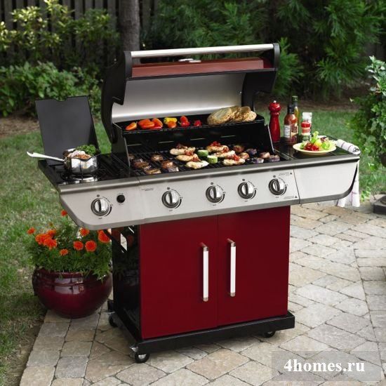 Как выбрать газовый гриль для барбекю?