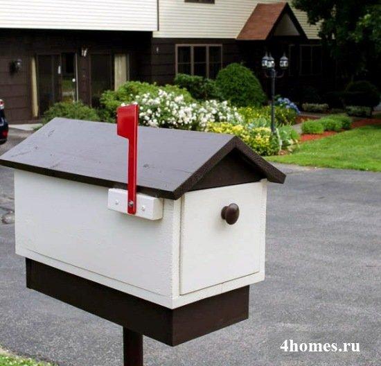 Почтовый ящик своими руками для частного дома