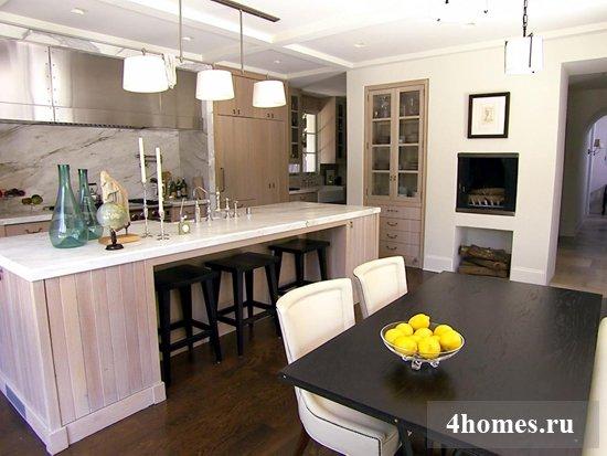 Продумываем дизайн кухни-столовой