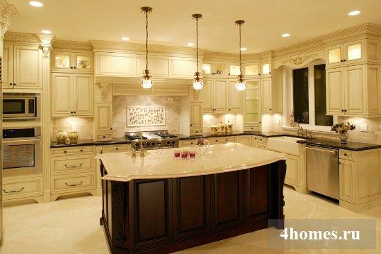 Освещение на кухне: на что обратить внимание