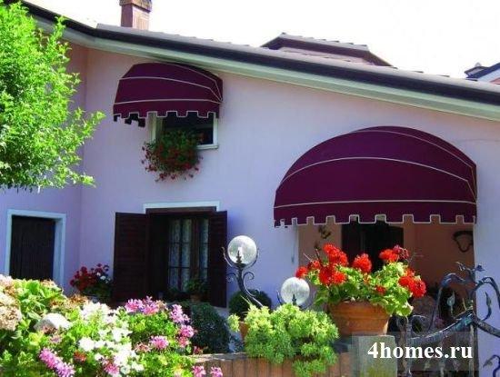 Маркизы для террасы, окон и балконов – защита и украшение