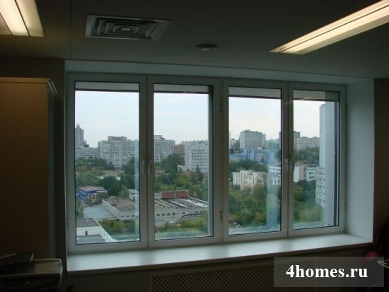 окна в пол