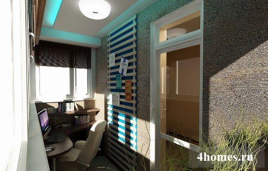 Оригинальный дизайн балконов: фото примеров оформления