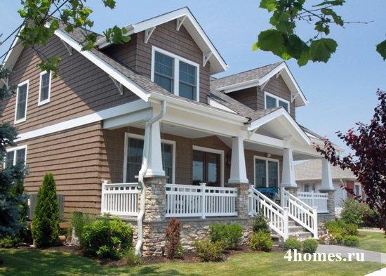 Дом в американском стиле: какой он?