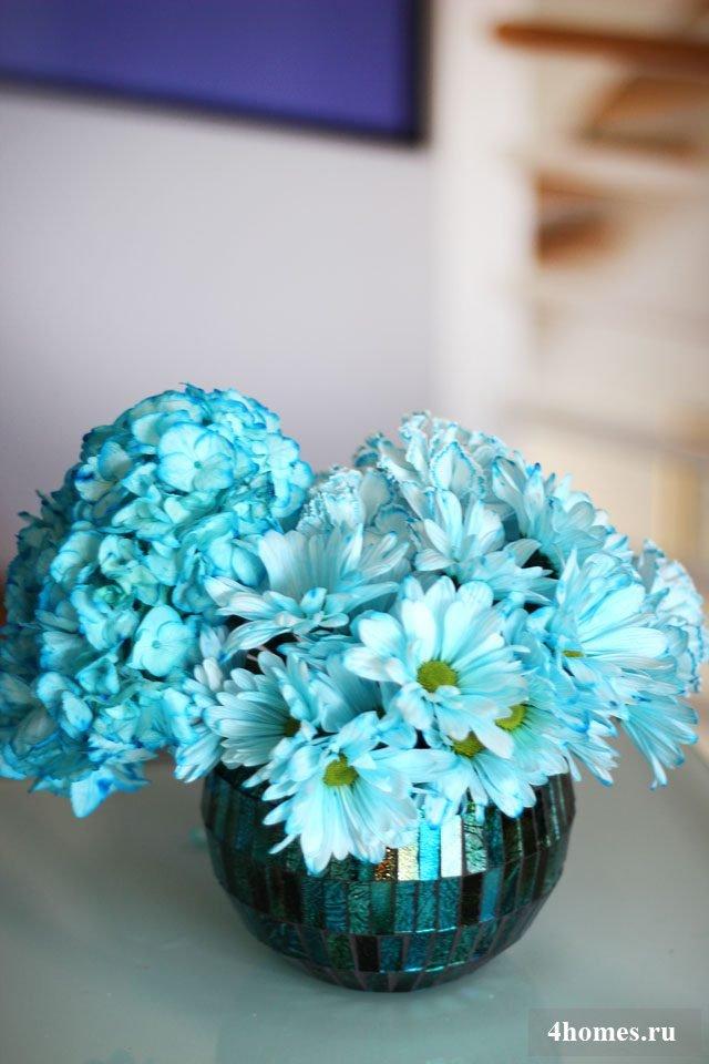 Покраска цветов в домашних условиях 568