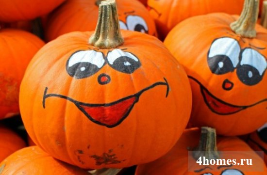 Поделки из тыквы на тему осень: идеи