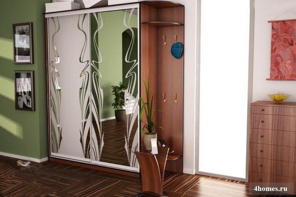 Шкаф-купе в прихожую: фото, дизайн, идеи расположения.