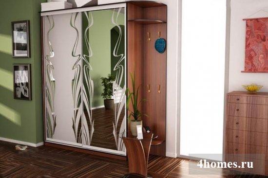 Шкаф-купе в прихожую: фото, дизайн, идеи расположения
