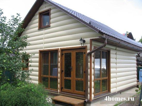 Идеи оформления фасадов домов: фото