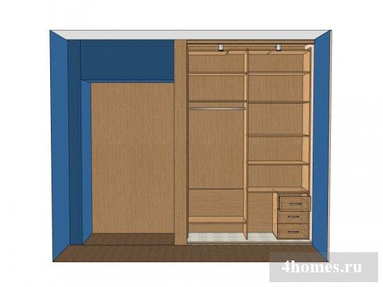 Как своими руками сделать шкаф купе