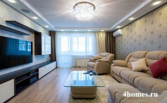 интерьер однокомнатной квартиры 40 кв.м фото в современном стиле