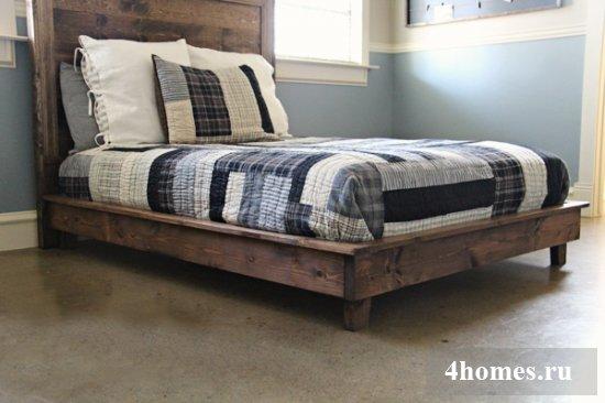 кровать своими руками чертежи и размеры схемы и проекты эскизы
