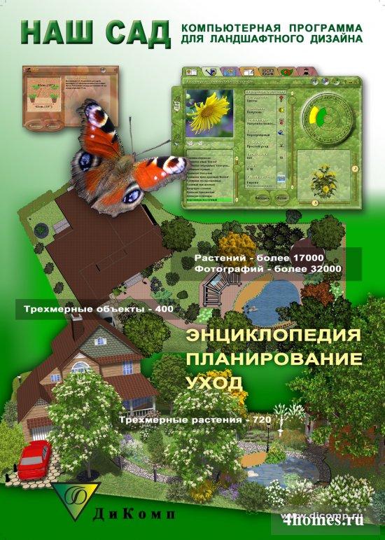 Обзор программ для планировки участка