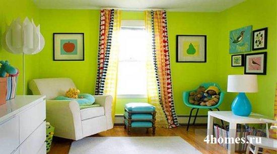 Фисташковый цвет: сочетание с другими цветами в интерьере
